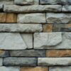 A selection of natural stone in the home decoration.
